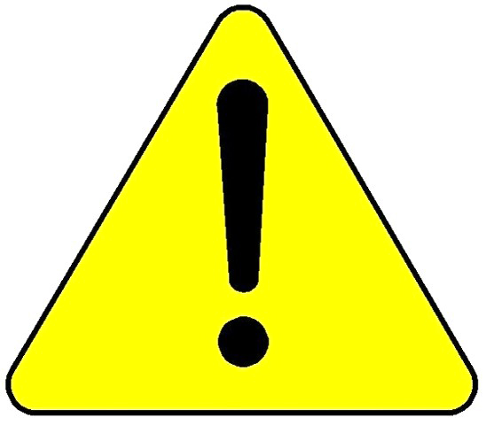 punch press safety. Caution clipart carefully