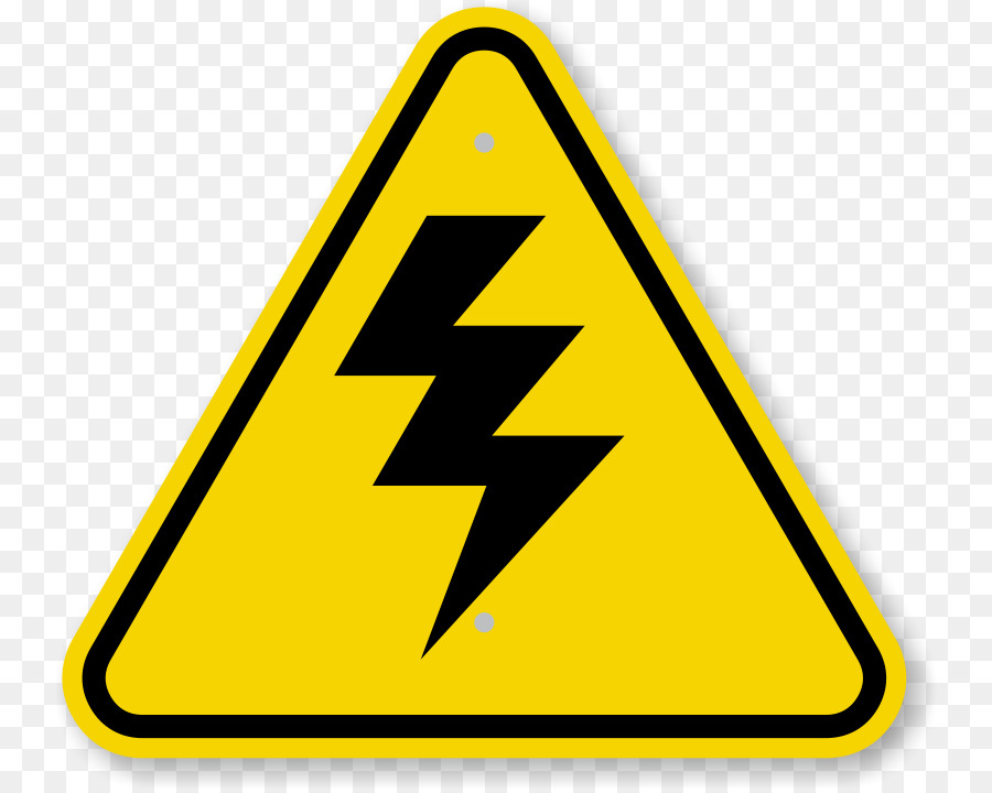 Warning sign high voltage. Caution clipart caution symbol