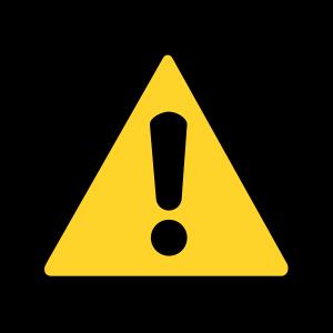 Caution clipart caution symbol. Sign panda free images