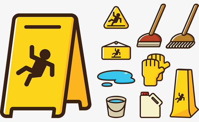 Cleaning appliances slip png. Caution clipart caution wet floor