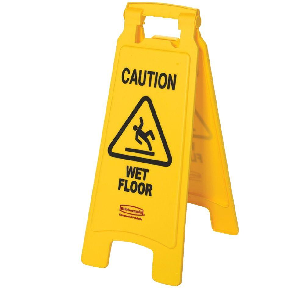 Rubbermaid commercial products in. Caution clipart caution wet floor