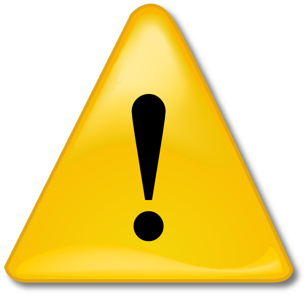 Caution clipart cautious. The picture for word