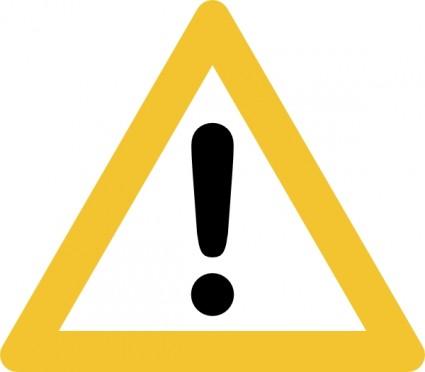 caution clipart clip art