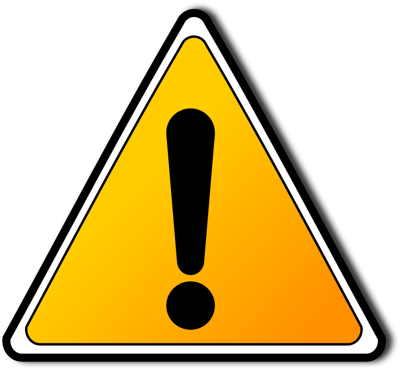 Sign warning clipartbarn . Caution clipart clip art