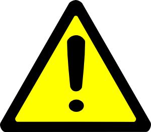 Caution clipart clip art. Warning sign panda free