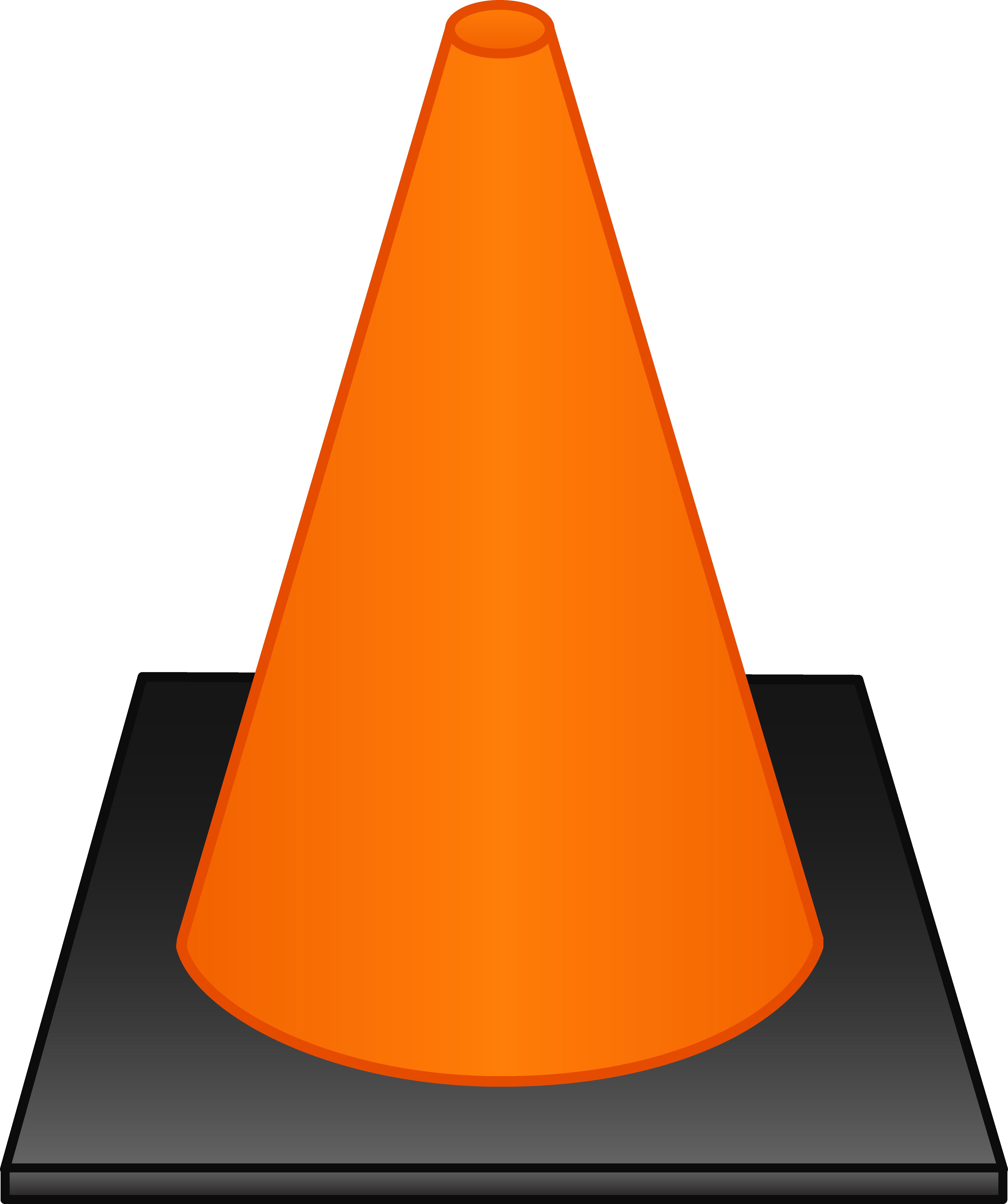 Pathway clipart psalm 121. Orange traffic cone free