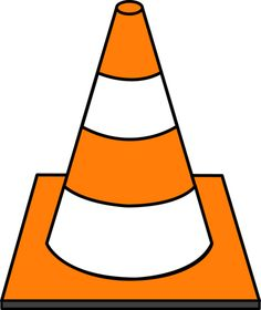 Caution clipart cone. Kids hard at work