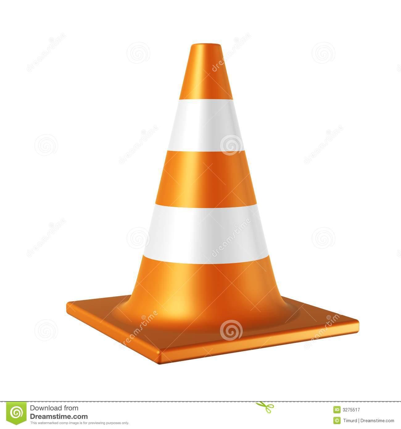 Traffic transparent . Caution clipart cone