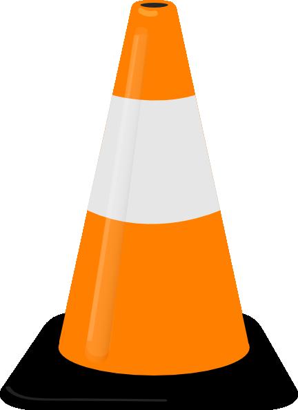 Cones . Caution clipart cone