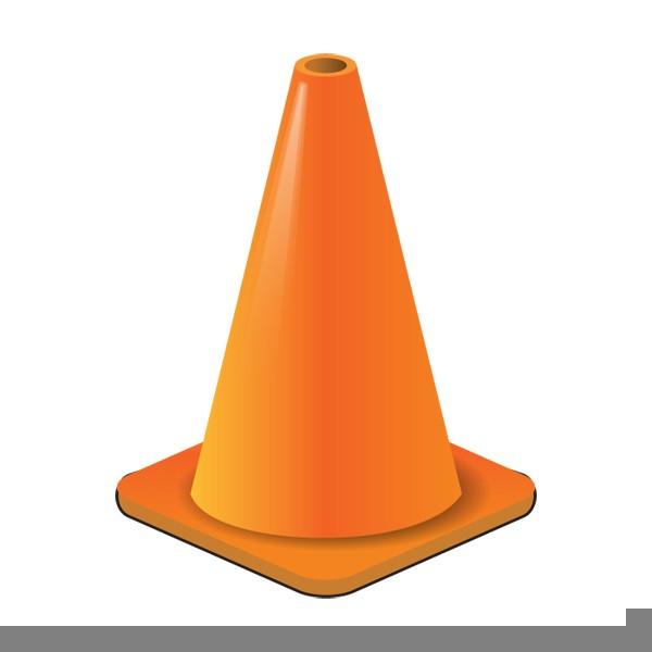 caution clipart cone