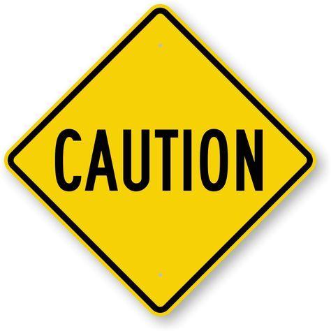 caution clipart construction