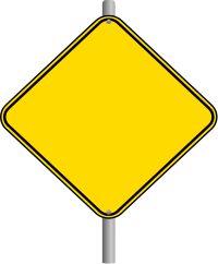 Caution clipart construction. Printable signs pictures best