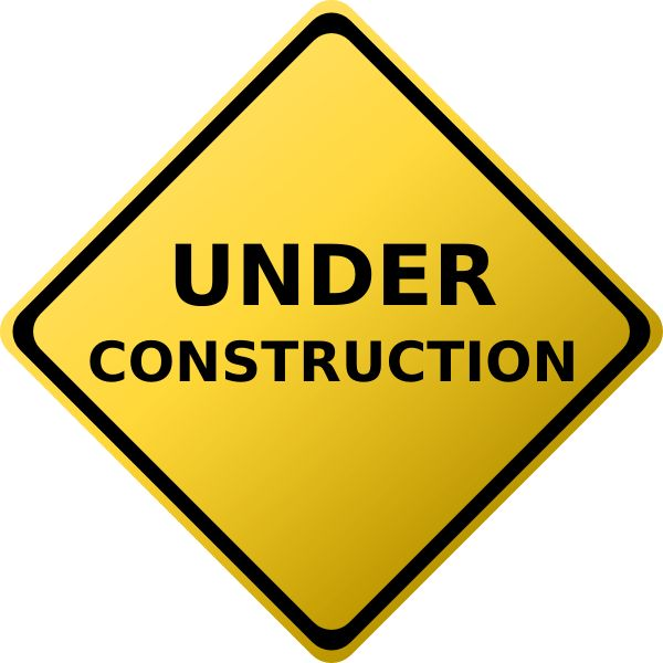 best road signs. Caution clipart construction sign