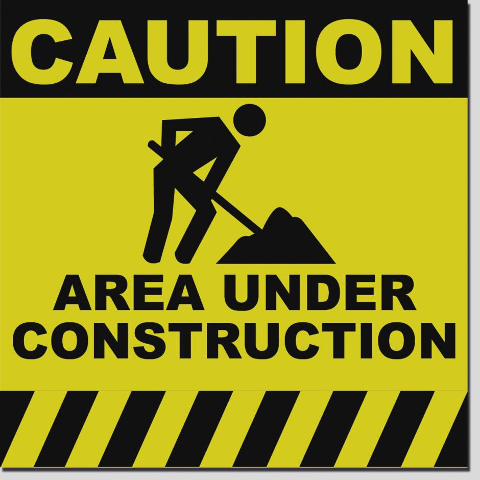Pictures of clip art. Caution clipart construction sign