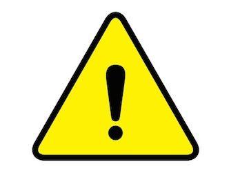 Spiritview avoid zones. Caution clipart danger zone