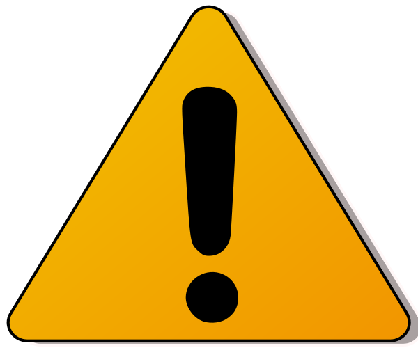 Cliparts warning. Caution clipart danger zone