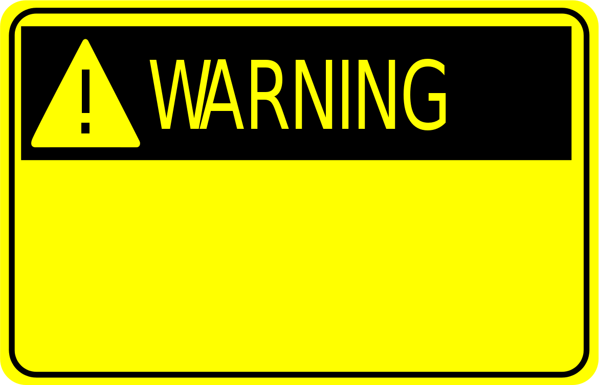 Caution clipart danger zone. Free warning download clip