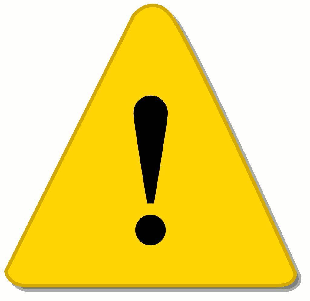 Warning clip art free. Caution clipart gambar