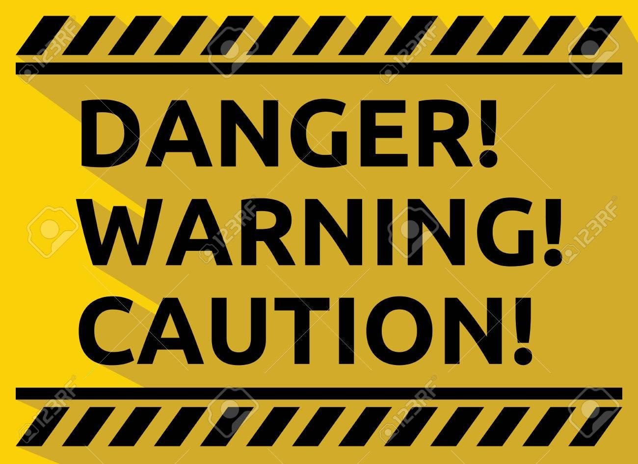 Free danger download clip. Caution clipart gambar