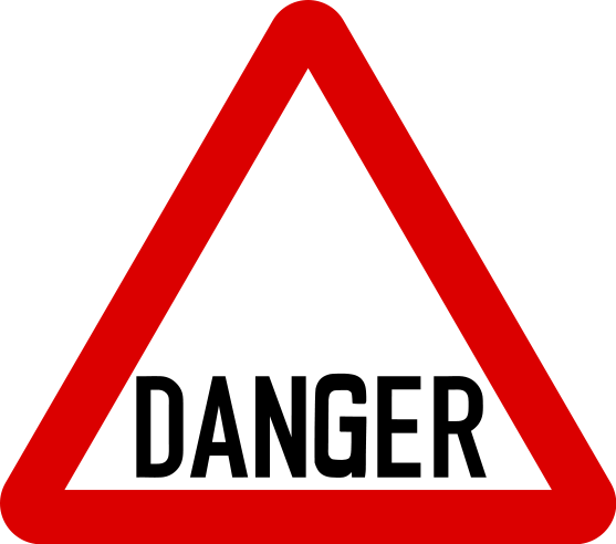 Free printable warning signs. Caution clipart hazard sign