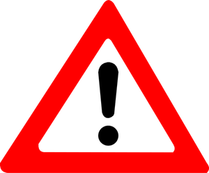 Warning sign free download. Caution clipart logo