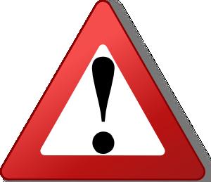 caution clipart logo