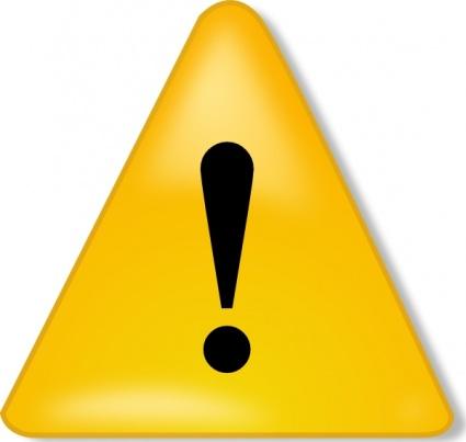 Caution clipart logo. Warning sign clip art