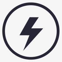 Caution clipart mark. Electricity danger monochrome png