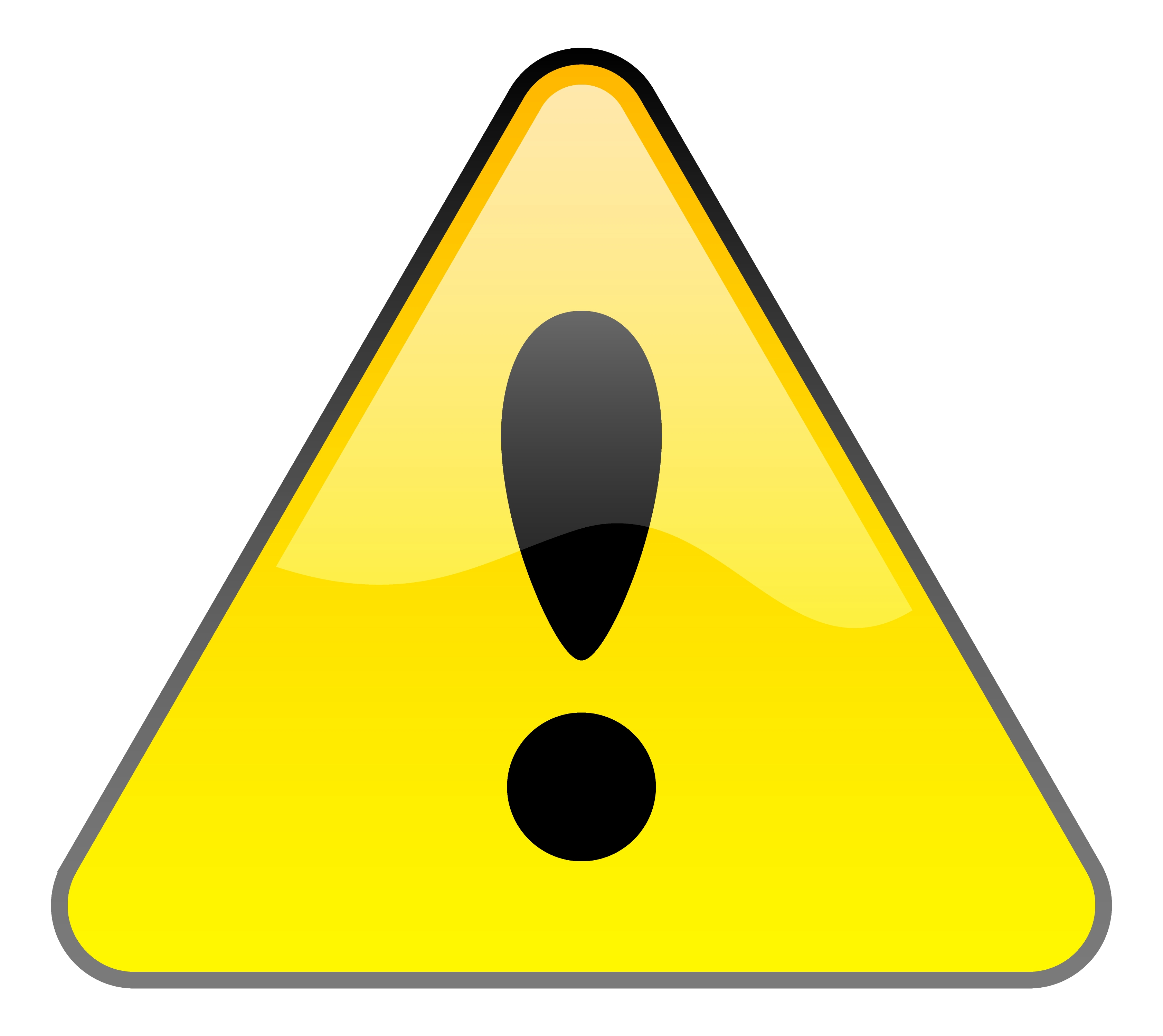 Sign hostted clipartbarn . Caution clipart mark
