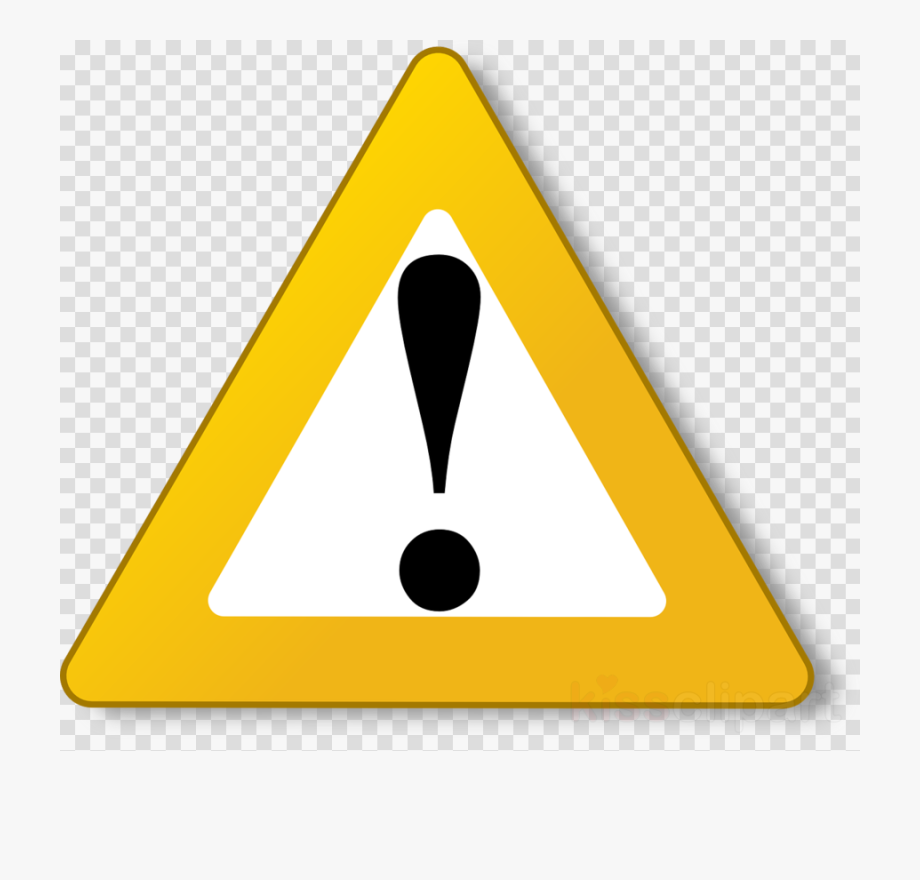 Caution clipart mark. Exclamation png warning triangle