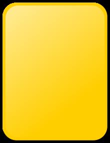 Card revolvy. Caution clipart penalty