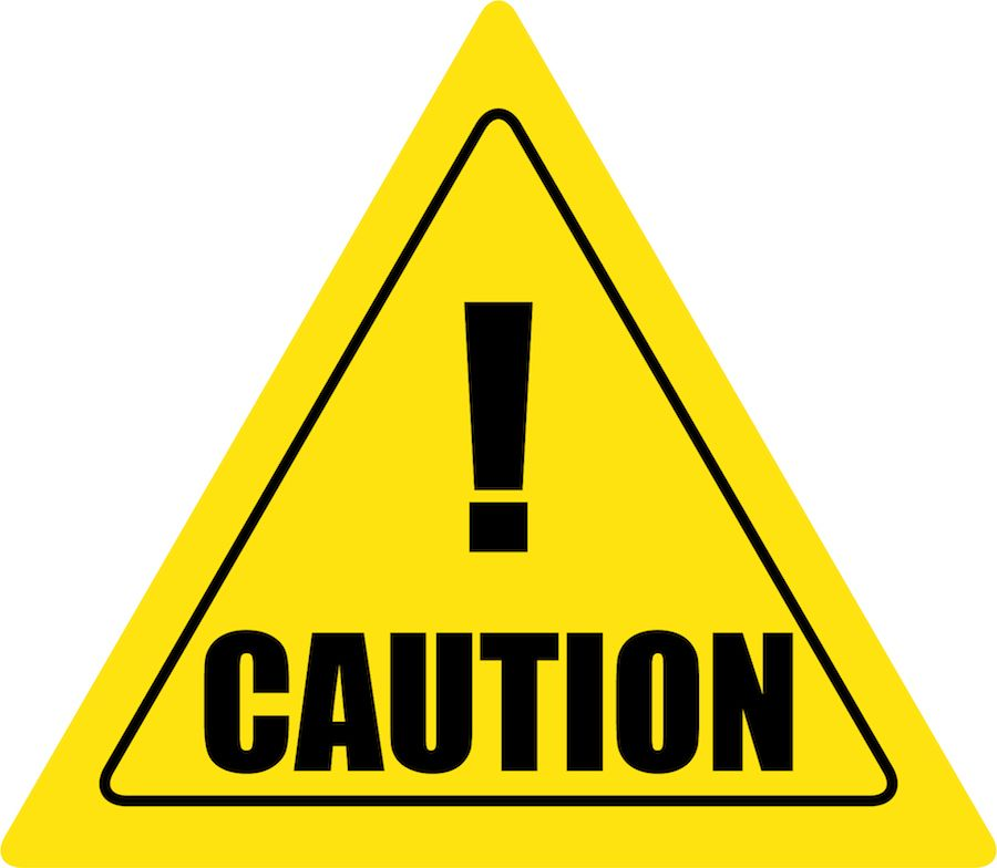Creative safety supply yield. Caution clipart proceed with caution
