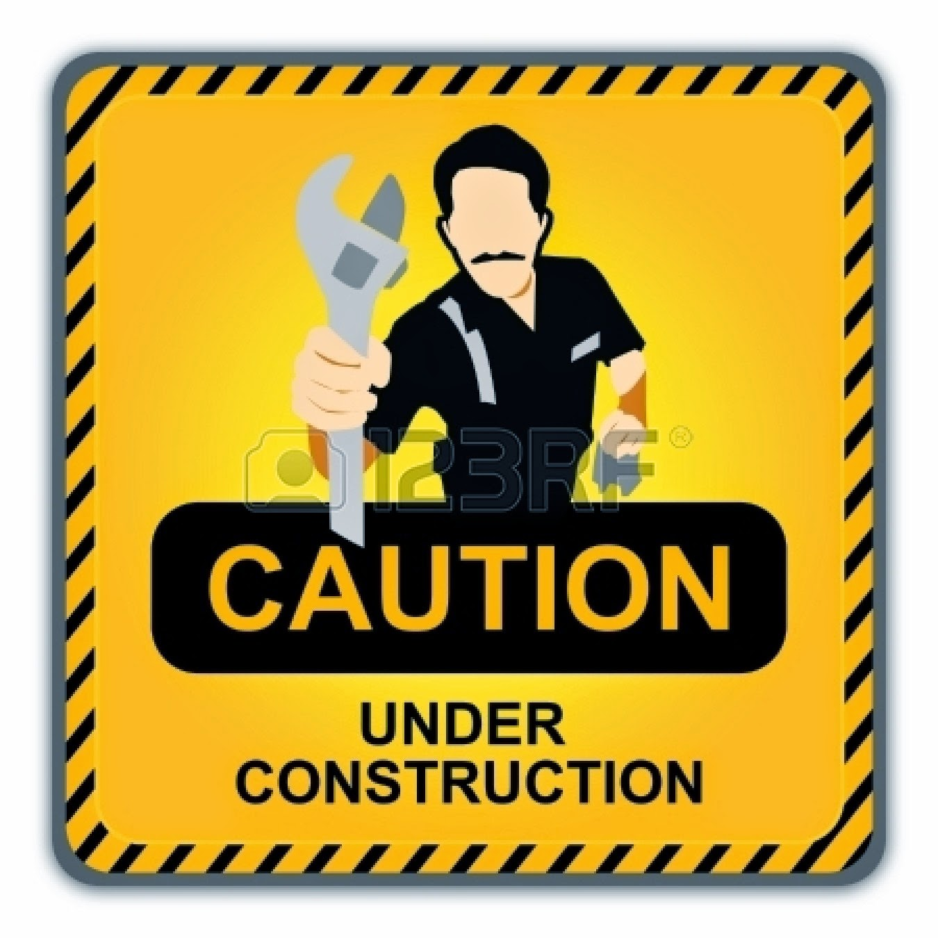 Fairway s watch the. Caution clipart proceed with caution