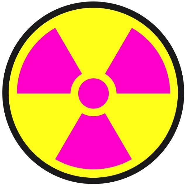best radiation stuff. Caution clipart radioactive