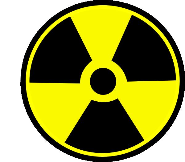 caution clipart radioactive