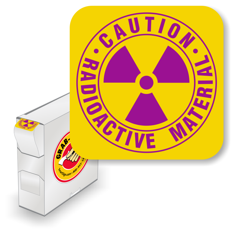 Caution clipart radioactive. Material signs substance warnings
