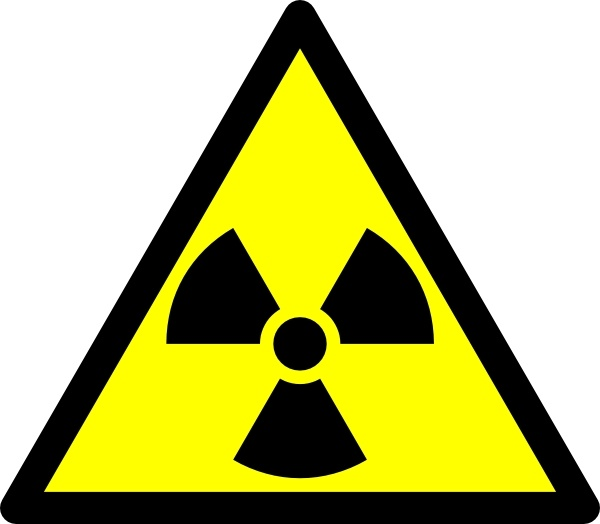 Free vector download for. Caution clipart radioactive