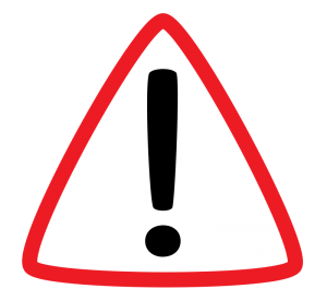 Important clipart important sign. Warning icon clip art