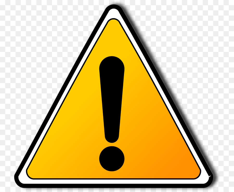 Warning yellow transparent . Caution clipart safety sign