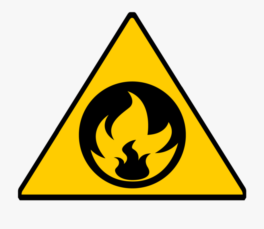Fire signs sign png. Emergency clipart warning symbol