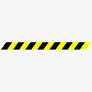 Tape stripes transparent background. Caution clipart stripe