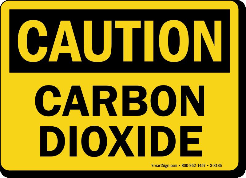 Caution clipart symptom. Carbon dioxide signs best