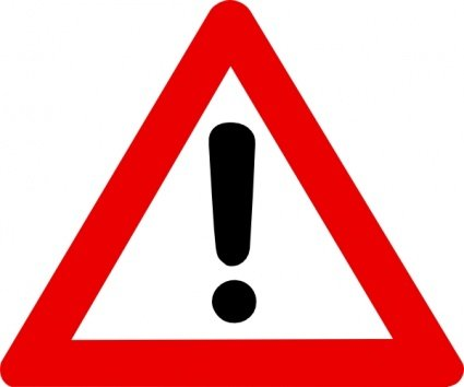 Caution clipart toxic sign. Free radioactive warning and