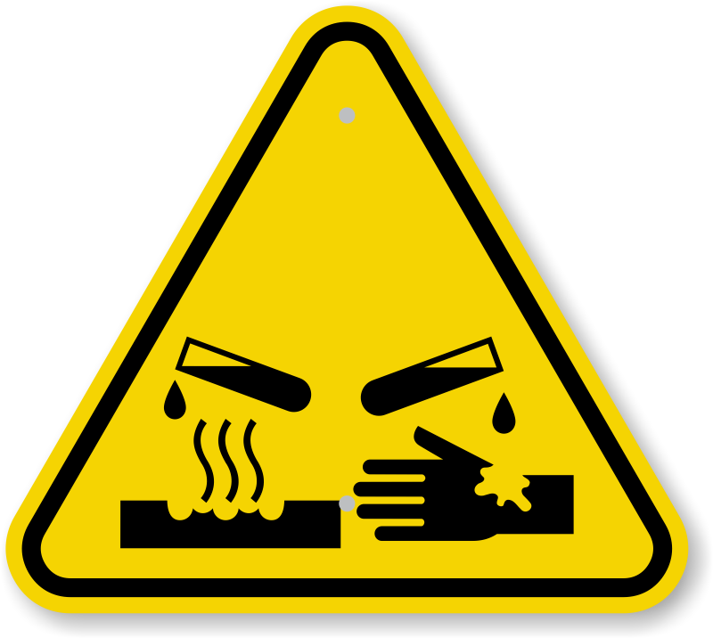 Triangle vector download symbols. Caution clipart toxic sign