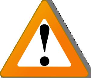 Warning clip art at. Caution clipart toxic sign
