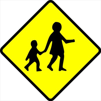Caution clipart traffic. Free signs graphics images