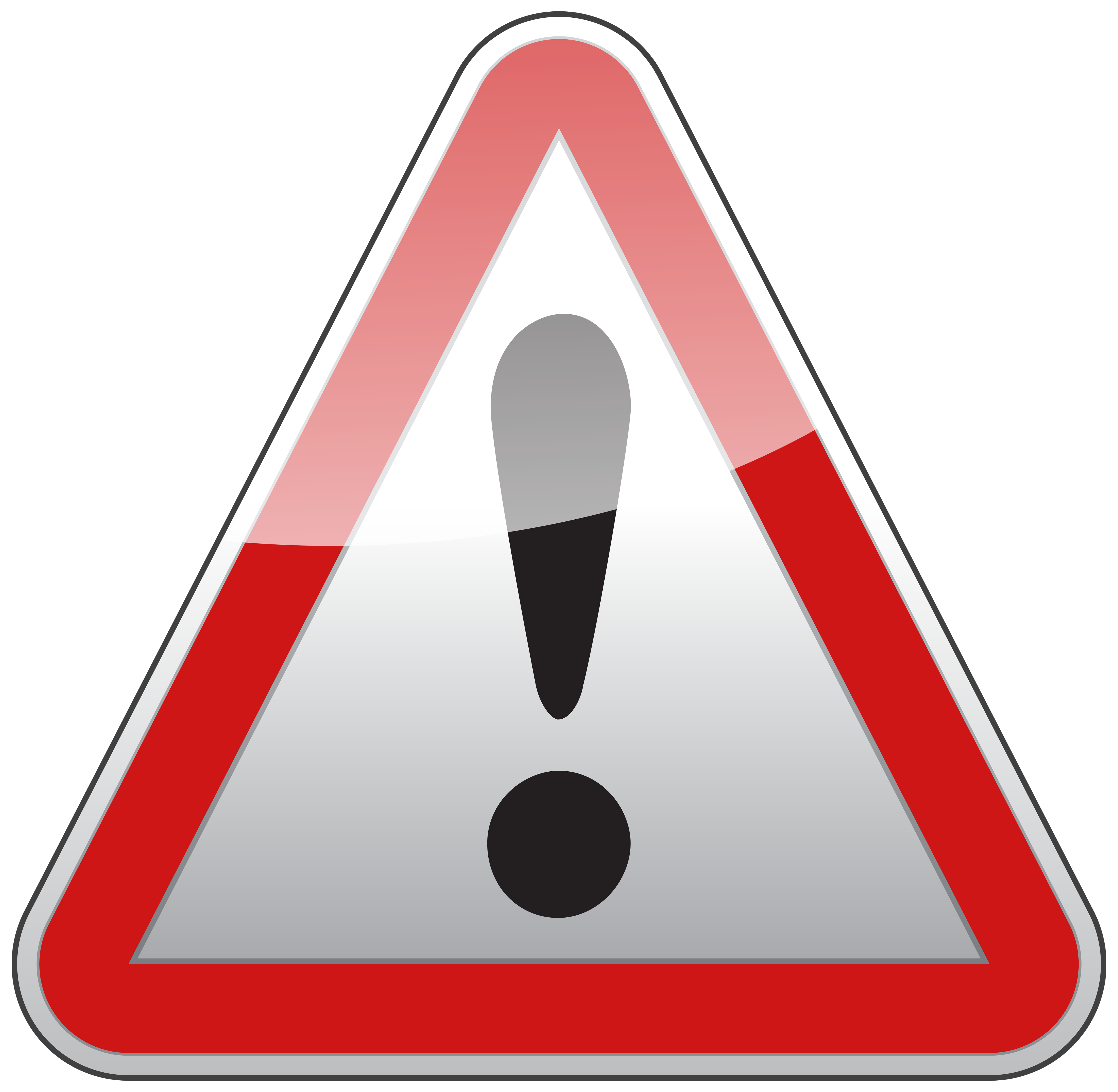 Triangle sign png best. Electrical clipart warning