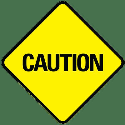 Sign png stickpng . Caution clipart transparent
