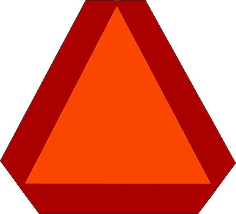 Caution clipart triangle. Triangular safety reflector clipground