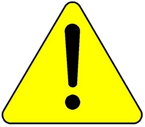 Caution clipart triangle. Free download clip art